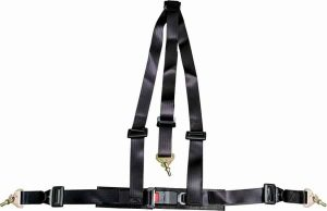 3 Point Black Racing Harness