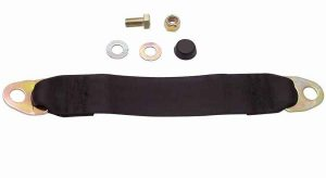 Black Seat Belt Extender, 12 Inches