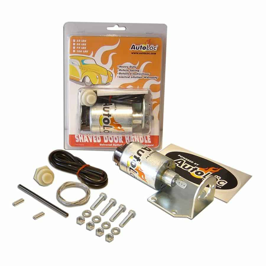 100lbs Shaved Door Pop Handle / Latch Popper Kit