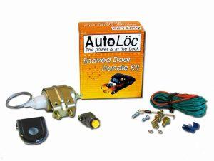 Autoloc 11 Lbs Shaved Door Solenoid Pop Handle / Latch Popper Kit