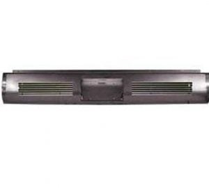 1999-2006 CHEVY C/K15, C/K25, 25HD, C/K35, Silverado FLEETSIDE Steel Rollpan – Dual Billet Insert w/ License Centered