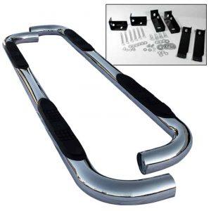 00-10 Chevy Tahoe /GMC Yukon 1/2 ton 3″ Stainless Side Step Bar