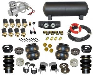 1964-1988 Chevrolet Chevelle, Monte Carlo, El Camino Complete Air Suspension Kit