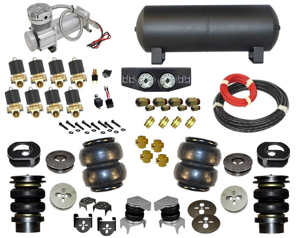 1960-1970 Pontiac Ventura Complete Air Suspension Kit