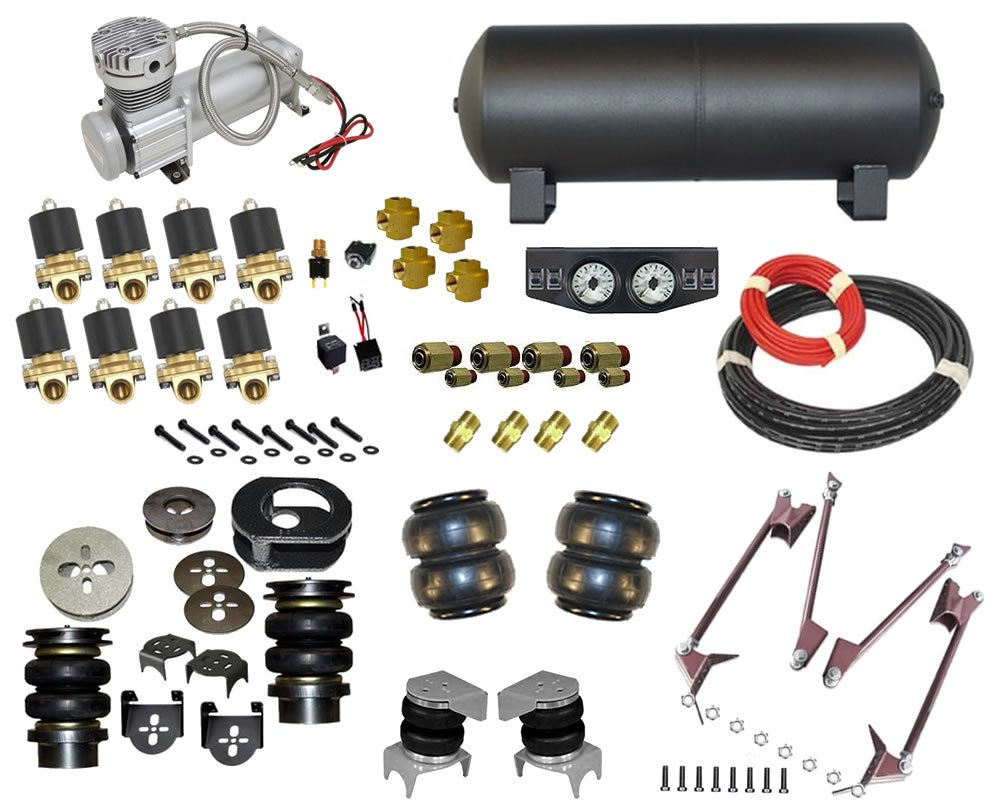1997-2004 Dodge Dakota Complete Air Suspension Kit