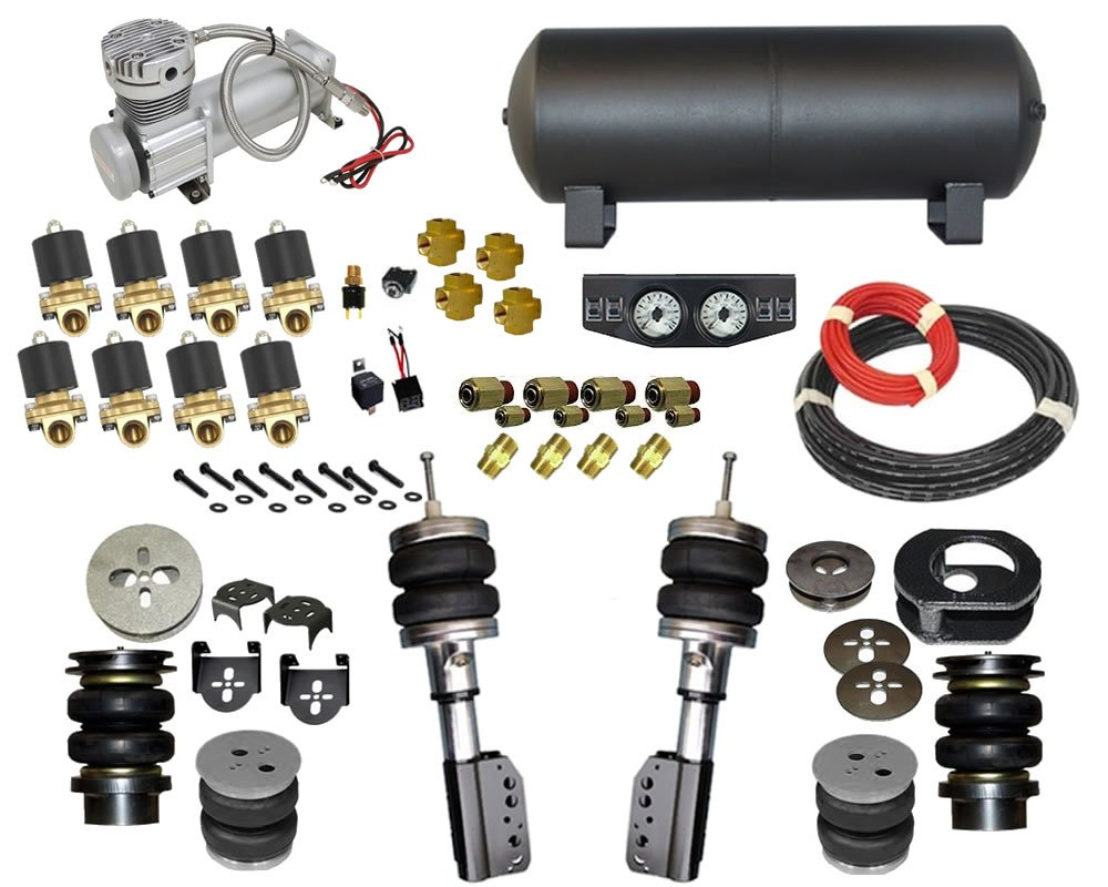 2000-2006 Toyota Echo, Scion XB, Scion XA, CP30 Complete Air Suspension Kit