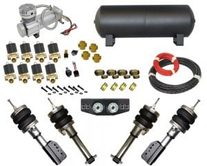 1989-1992 Geo Prizm Complete Air Suspension Kit