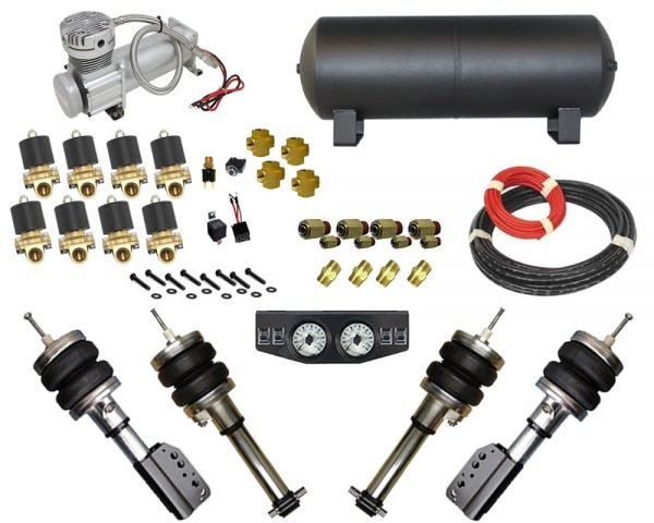 2000-2002 Hyundai Accent Complete Air Suspension Kit