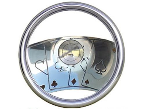 Full Custom Billet Steering Wheel – Royal Flush / Gambler