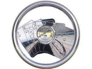 Full Custom Billet Steering Wheel – Cards / Gambler