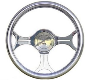 Full Custom Billet Steering Wheel – Gear Head
