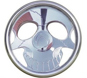 Full Custom Billet Steering Wheel – Ghoul Skull
