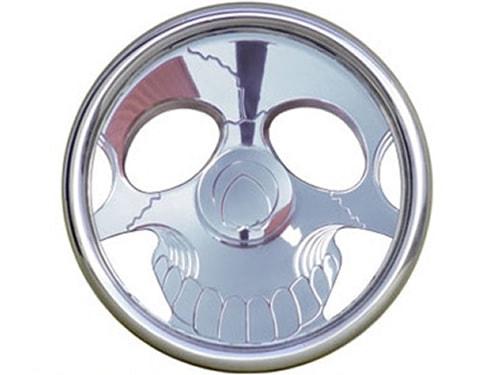 Full Custom Billet Steering Wheel - Ghoul Skull