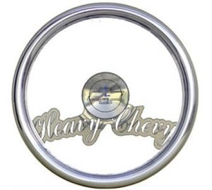 Full Custom Billet Steering Wheel – Heavy Chevy