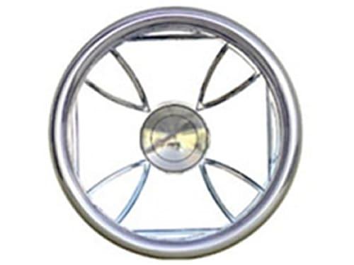 Full Custom Billet Steering Wheel – Maltese Cross