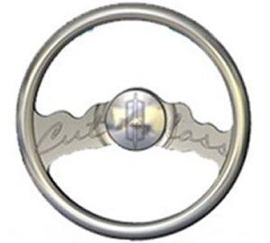 Full Custom Billet Steering Wheel – Oldsmobile Cutlass