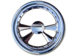Full Custom Billet Steering Wheel – 4 Spoke w/ Rivets