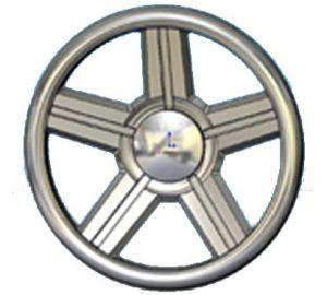 Full Custom Billet Steering Wheel – 5 Spoke I-Roc Camaro