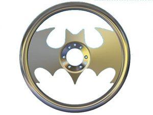 Full Custom Billet Steering Wheel – Batman