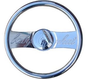 Full Custom Billet Steering Wheel – Baby Phat