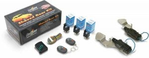 Bolt On Shave Door Kit  for S-10 (1 PAIR) with Alarm and Remotes