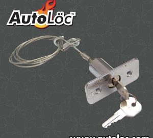 Deluxe Keyed Emergency Latch Release System with 2 Keys