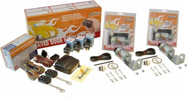 10 Function 11lbs Remote Shaved Door Popper Kit