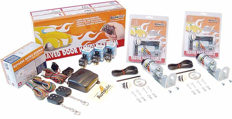 10 Function 35lbs Remote Shaved Door Popper Kit