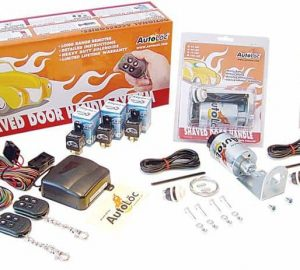4 Function 35lbs Remote Shaved Door Popper Kit