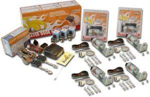 8 Function 35lbs 4 Door Remote Shaved Door Popper Kit
