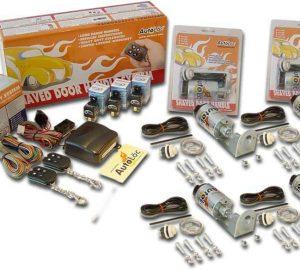 4 Door 8 Function 50lbs Remote Shaved Door Popper Kit