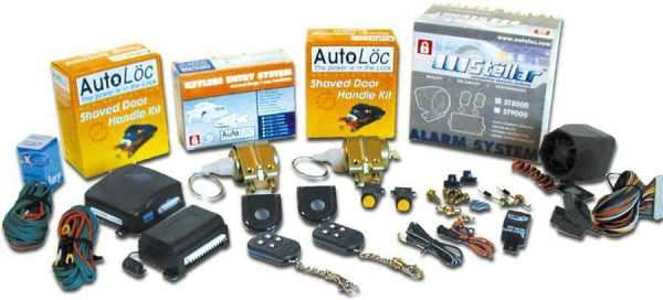 16 Function 15lbs Alarm Remote Shaved Door Popper Kit