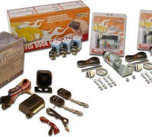 3 Function 35lbs Alarm Remote Shaved Door Popper Kit