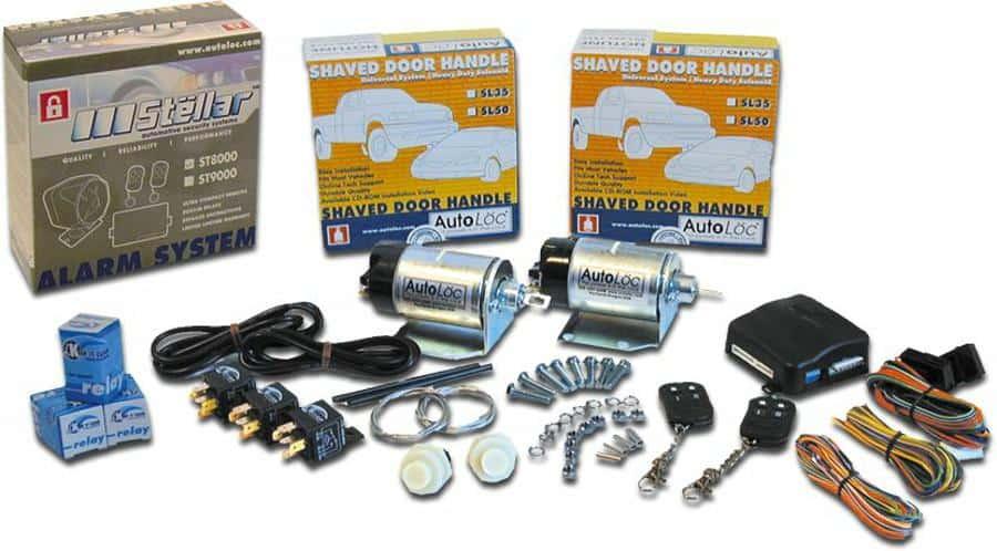 7 Function 35lbs Alarm Remote Shaved Door Popper Kit