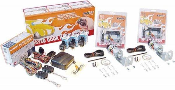 4 Function Alarm 50 lbs Remote Shaved Door Popper Kit