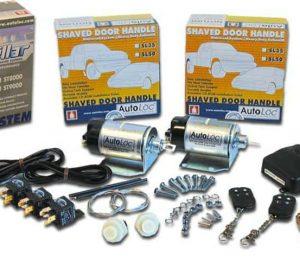 18 Function 50lbs Alarm Remote Shaved Door Popper Kit