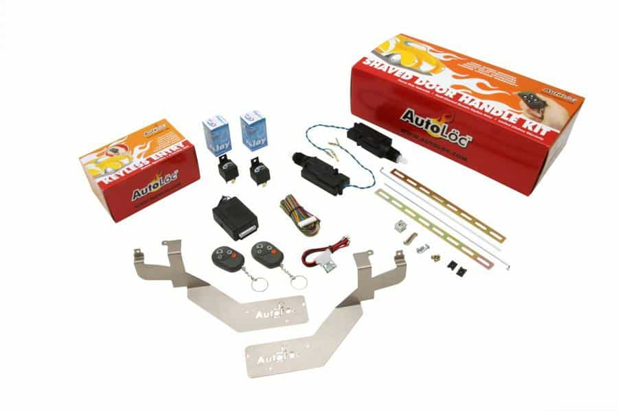 Autoloc Bolt-In 8-Channel Shaved Door Kit for Most 1980 - 1999 GM Cars and Trucks
