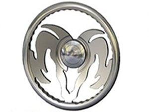 Full Custom Billet Steering Wheel – Ram Head, Rambo Wheel