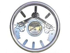 Full Custom Billet Steering Wheel – Pistol