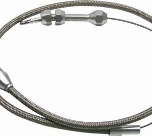 AutoLoc Stainless Steel Adjustable Tuned Port Throttle Cable