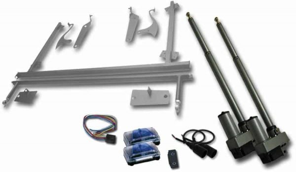 Universal Automatic Tilt Hood Kit with Remotes
