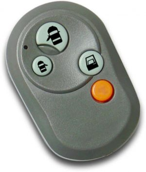 Number Remote 4 Button Case