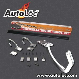 Universal Chrome Trunk Hinge Kit