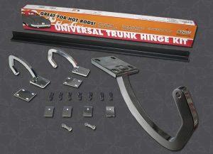 Universal Trunk Steel Chromed Hinge Kit