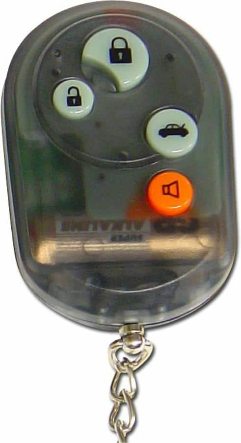 Smoke Black  4 Button Remote Face Plate with Buttons