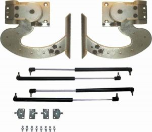 130 Degree Heavy Duty Manual Lambo Vertical Door System