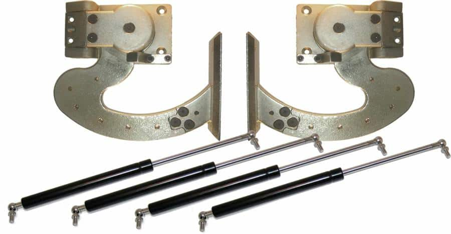 90 Degree Heavy Duty Manual Lambo Vertical Door System