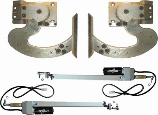 130 Degree Heavy Duty Automated Lambo Vertical Door System