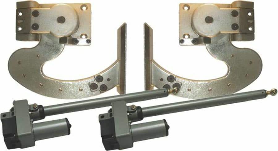 90 Degree Heavy Duty Automated Lambo Vertical Door System