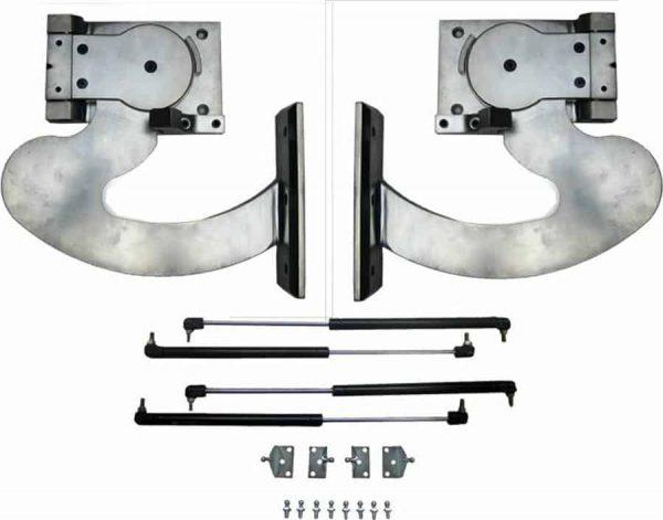 120 Degree Slimline Ultra-Thin Manual Lambo Vertical Door System